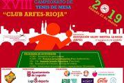 """Cuca Gamarra clausura el XVIII Campeonato De Tenis De Mesa """"Club Arfes – Rioja"""" Logroño, Ciudad Sin Estigma"""